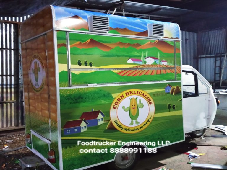 Food Truck Manufacturer in Pune, Food Truck Manufacturer in Mumbai By Foodtrucker Engineering LLP